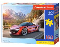 Glow2B Castorland Sports Car, Puzzle 100 Teile