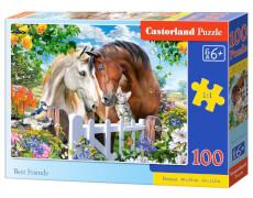 Glow2B Castorland Best Friends, Puzzle 100 Teile