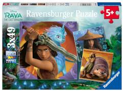 Ravensburger 05098 Puzzle Raya, die tapfere Kriegerin