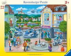 Ravensburger 05176 Puzzle Polizeieinsatz mit Hannah und Erik