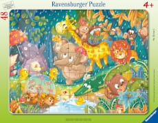Ravensburger 05177 Puzzle Es regnet!