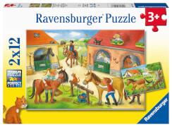Ravensburger 05178 Puzzle Ferien auf dem Pferdehof
