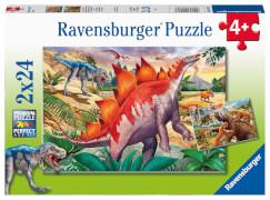 Ravensburger 05179 Puzzle Wilde Urzeittiere