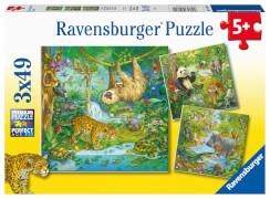 Ravensburger 05180 Puzzle Im Urwald