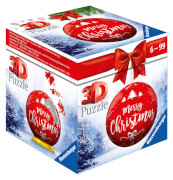 Ravensburger 11268 Puzzle Puzzle-Ball Weihnachtskugel Merry Christ