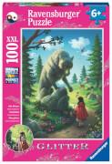 Ravensburger 12988 Puzzle Rotkäppchen und der Wolf