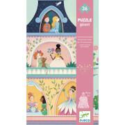Bodenpuzzle: Der Prinzessinnenturm 36 Teile