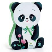 Formen Puzzle: Leo der Panda 24 Teile