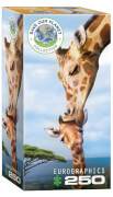 EuroGraphics Puzzle Giraffenmutterkuss 250 Teile