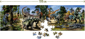Panorama-Puzzle T-Rex World 250 Teile