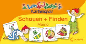 Loewe Lernspielzwerge KS:Schauen + finden Memo