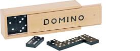GoKi Dominospiel im Holzkasten