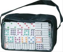 12er Domino in Reißverschlusstasche, 91 Spielteile, für Kinder ab 6 Jahren