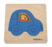 Beleduc Lagen-Puzzle Auto