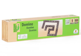 Natural Games Domino in Holzbox 55 Steine