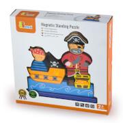 Viga 3D Magnetpuzzle Pirat