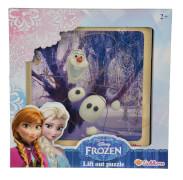 Disney Frozen - Die Eiskönigin Einlegepuzzle, 4-sortiert