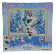 Disney Frozen - Die Eiskönigin Steckpuzzle, Olaf