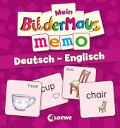 Loewe Mein Bildermaus-Memo - Deutsch - Englisch