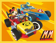 Clementoni Baby Würfelpuzzle 12er Mickey and the Roadster Racers