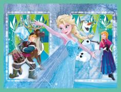 Clementoni Baby Disney Frozen Würfelpuzzle, 12 Teile