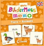 Loewe Mein Bildermaus-Memo - Englisch - Tiere - Animals