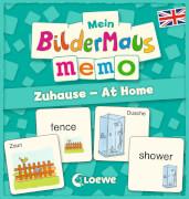 Loewe Mein Bildermaus-Memo - Englisch - Zuhause - At Home