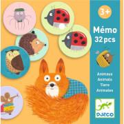 Lernspiele: Memo Tiere