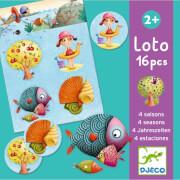 Lernspiele: Lotto 4 Jahreszeiten