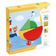 Kleinkind Lernspielzeug: Tangramini