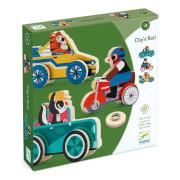 Kleinkind Lernspielzeug: Clipacar