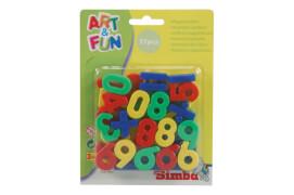 Art & Fun - Magnet-Zahlen/Zeichen, Kunststoff, ca. 20x1x15 cm, ab 3 Jahre