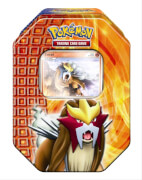 AMIGO 25409 Pokemon Tin 18 Entei DE