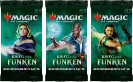 Magic the Gathering Krieg der Funken Booster