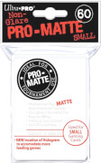 Ultra Pro Matte Sleeves weiß (small)