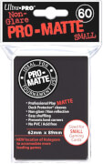 Ultra Pro Matte Sleeves schwarz (small)