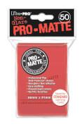 Ultra Pro PRO-Matte Sleeves rot
