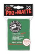 Ultra Pro PRO-Matte Sleeves grün
