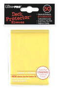 Ultra Pro Canary Yellow Protector