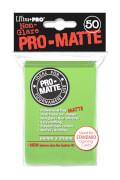 Ultra Pro Standard Sleeves Pro-Matte Lime Green
