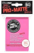 Ultra Pro Pro-Matte Mini Sleeves Bright Pink