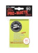 Ultra Pro Pro-Matte Mini Sleeves Bright Yellow