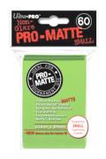 Ultra Pro Sleeves Pro Matte Small Size hellgrün