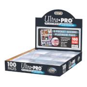 Ultra Pro 9-Pocket Secure Platinum Page