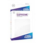 80 Karten-Schutzhüllen (Sleeve), 66x91 mm (Standard), matt-weiß