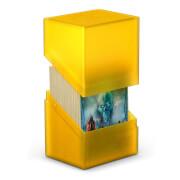 Kartenbox für 80+ Karten in Standardgröße (66x91 mm), amber