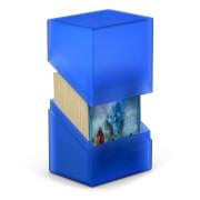 Kartenbox für 80+ Karten in Standardgröße (66x91 mm), sapphire