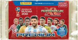 Adrenalyn FIFA World Cup Russia Premium Special Edition