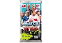 Match Attax Action Booster 2018/2019