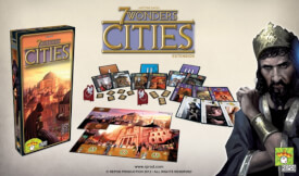 Asmodee 7 Wonders - Cities Erweiterung